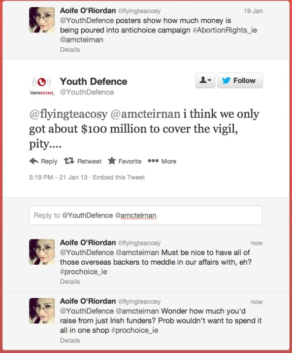 Speaking of Youth Defence..