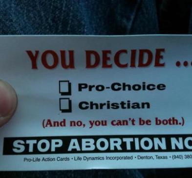 A Religious Pro Choicer - Stephen Spillane